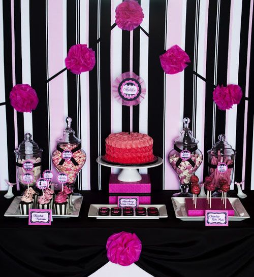 23 best Paris Damask Party Ideas images on Pinterest Paris party