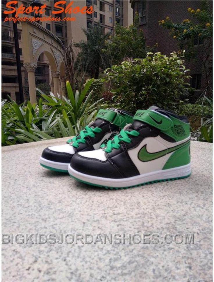 http://www.bigkidsjordanshoes.com/cheap-2017-air-jordan-1-kids-sneakers-green-white-black.html CHEAP 2017 AIR JORDAN 1 KIDS SNEAKERS GREEN WHITE BLACK Only $85.00 , Free Shipping!
