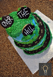 7 best cake images on Pinterest Over the hill 30th birthday