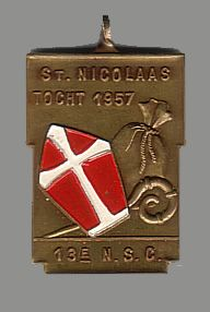 13e N.S.C. St. Nicolaas tocht 1957