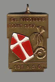 13e N.S.C. St. Nicolaas tocht 1957