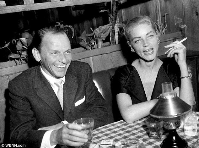 Sinatra (1915-1998) and Bacall (1924-2014)
