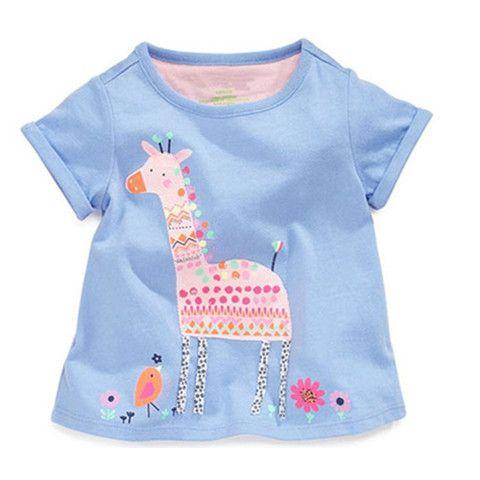 Новые коротким рукавом летом детская одежда девушки с короткими рукавами футболки корейских детей детские маленькие дети в хлопка вскользь рубашки 9,90прилива