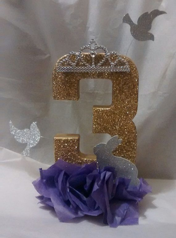 Check out this item in my Etsy shop https://www.etsy.com/listing/254089837/sofia-the-first-theme-centerpiece