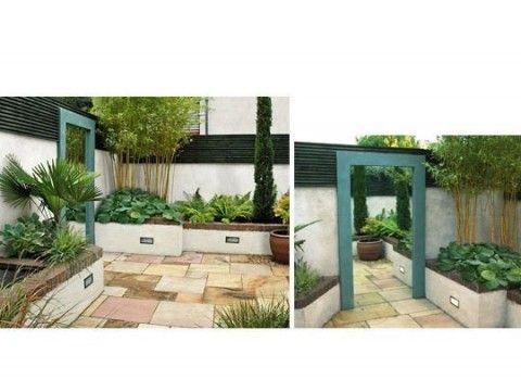 Espejos en el jardín 15