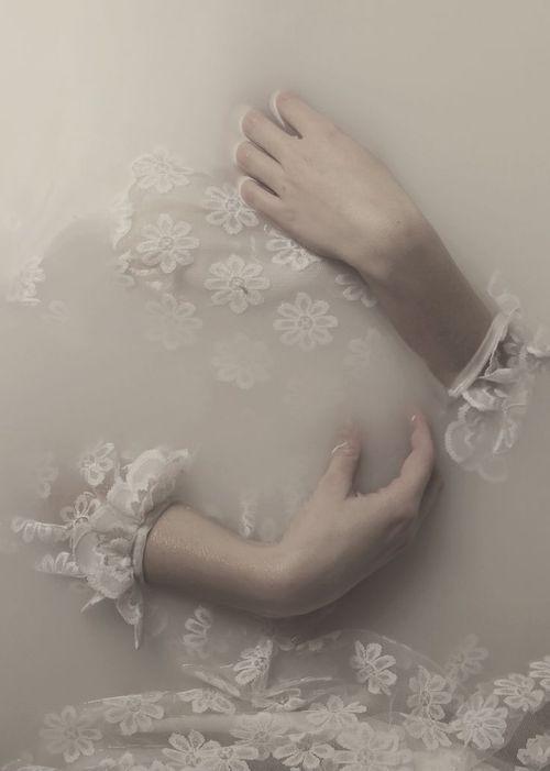water | lace | beauty