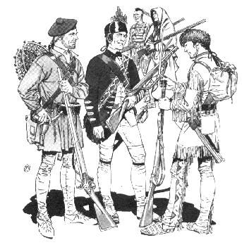 Rogers Rangers - Scots-Irish Special Forces during the French & Indian War.