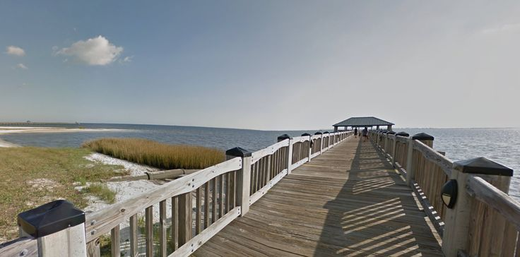 Virtually explore Front Beach Ocean Springs, Mississippi #MSCoastLife