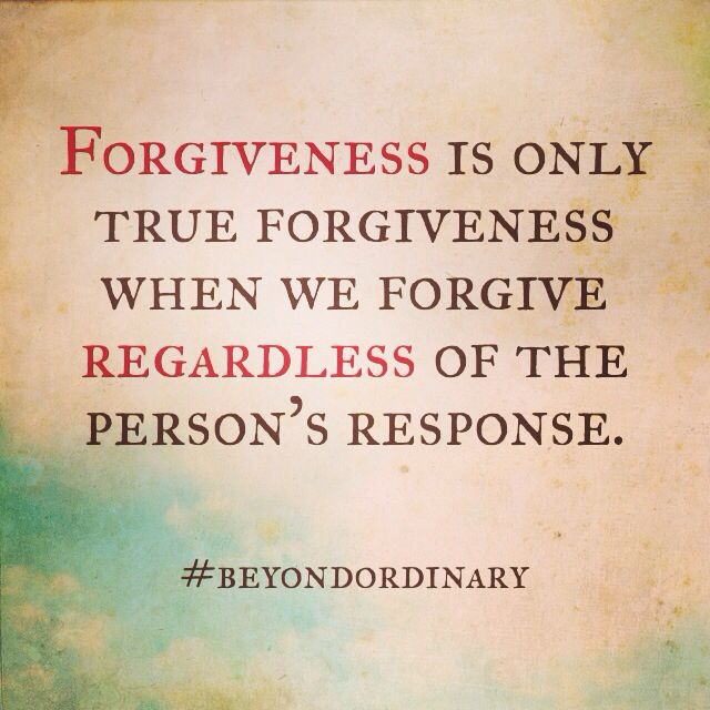 true forgiveness Psalm 32 gives us a litmus test for true forgiveness, which shows us how distinct it is from all competing ideas according to the psalmist, those.