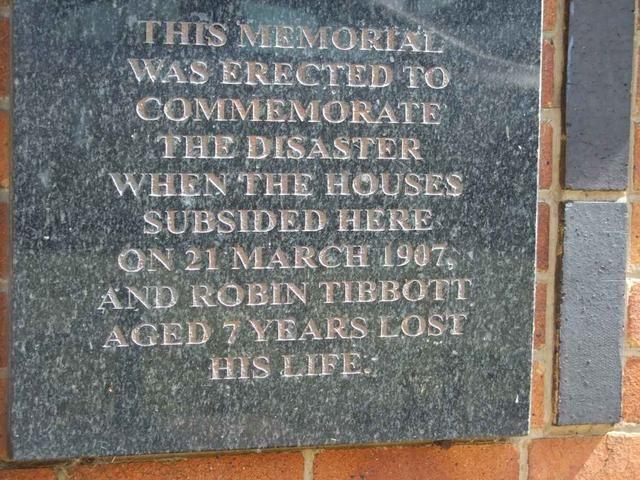 6. Robin Tibbott Memorial