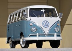 1963-67 Volkswagen T-1 Deluxe Bus van classic v wallpaper