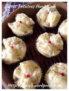 Sweet Potatoes Coconut Milk Huat Kuih (番薯椰奶发糕) #guaishushu #kenneth_goh #sweet_potatoes_huat_kuih #番薯发糕