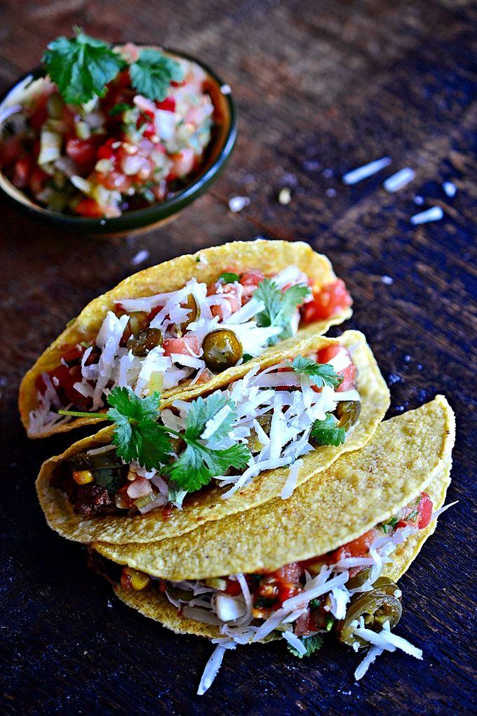 Taco z wołowiną