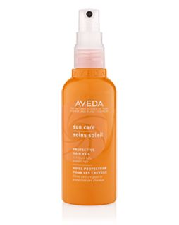 Sun Care Protective Hair Veil, I wear this anytime I'm out in the pool/water to protect my color treated hair. UVA/UVB protection that forms a sunscreen on your hair.