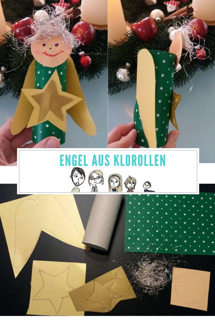 Copy of Engel aus #klorollen , #engel