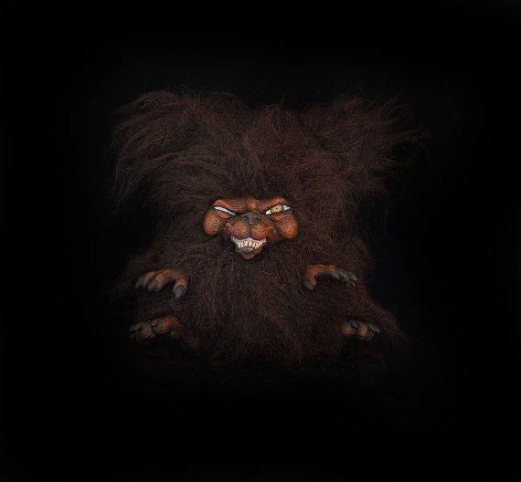 Killer Kodiak Scary handmade artist teddy bear