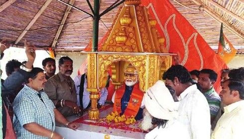 PM Modi 'appalled', saddened by temple dedicated to him in Rajkot