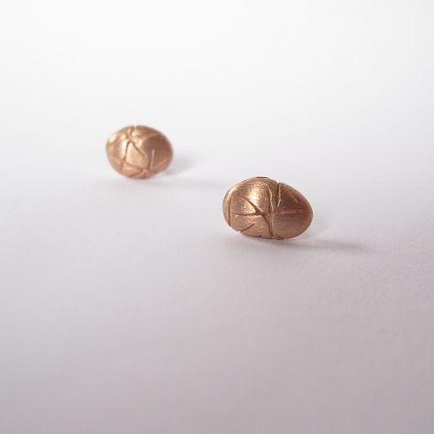 Náušničky na puzety jsou ve variantách...s jemnou patinou, zlacené žlutým odstínem zlata, zlacené růžovým odstínem zlata, bílé rhodiované. Při objednání prosím vyberte barvu viz.varianty    - stříbro 925, (zlato)