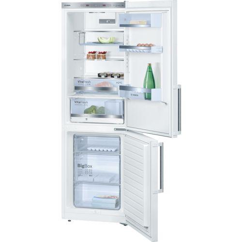 Produkter - Kylskåp och frysar - Kyl - frysar - Kyl - frysar med frysen nertill - KGE36BW40 | Bosch Home