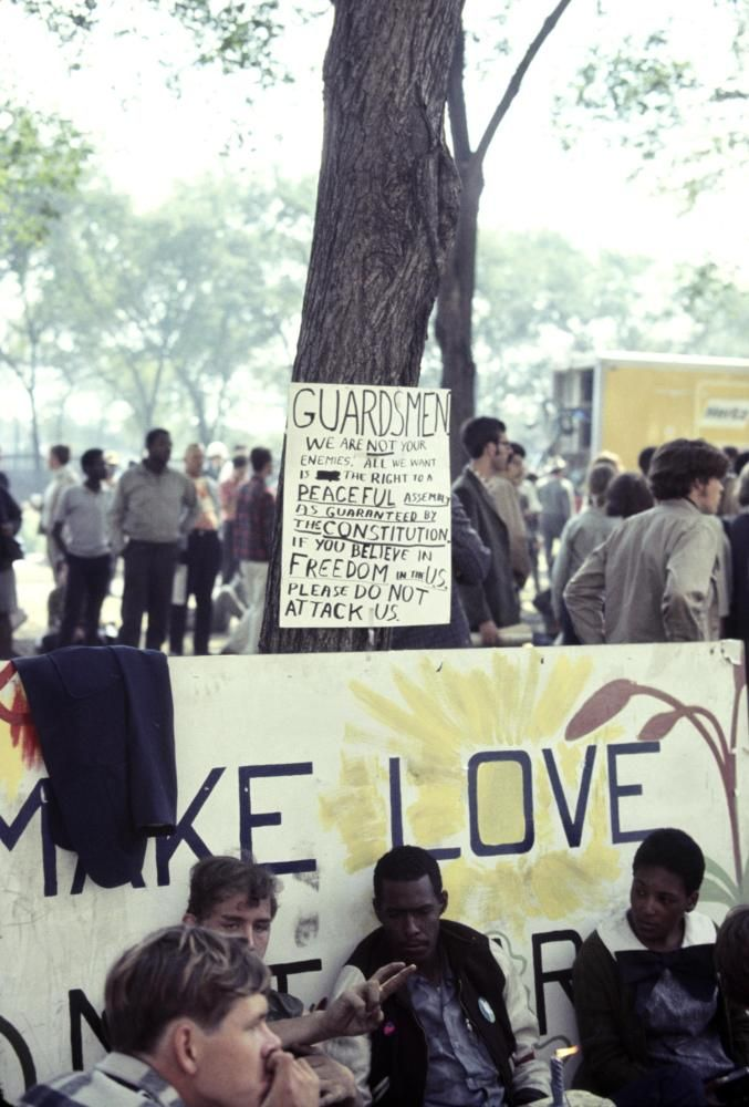 1968 Democratic Convention In Chicago: Police, Protesters Face Off (PHOTOS)