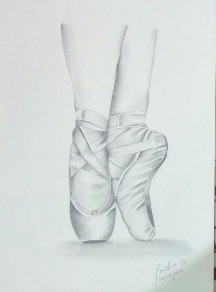 Elegance of ballerinas portrayed in this sketch#artbyprisha