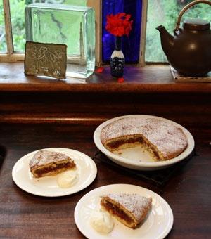 Tamarillo Shortcake