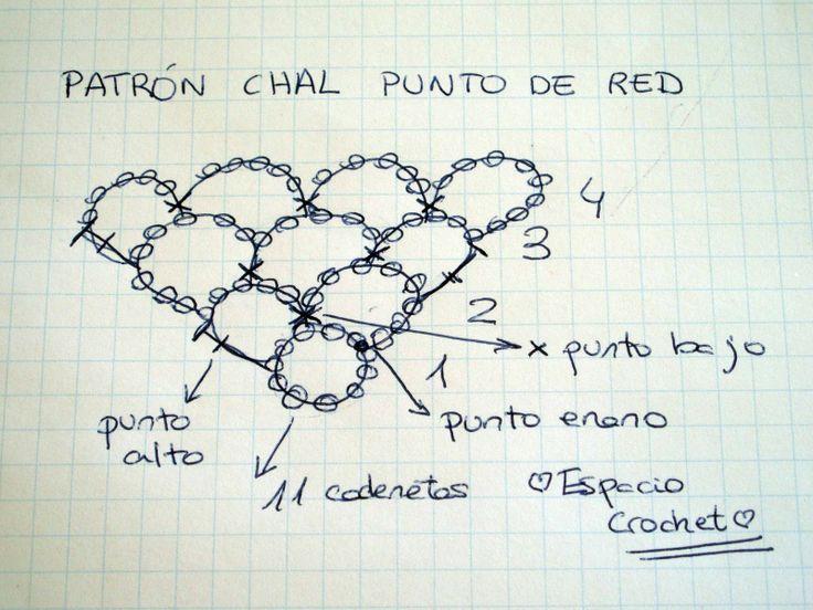 Mejores 149 imágenes de Crochet! en Pinterest | Puntadas de ...