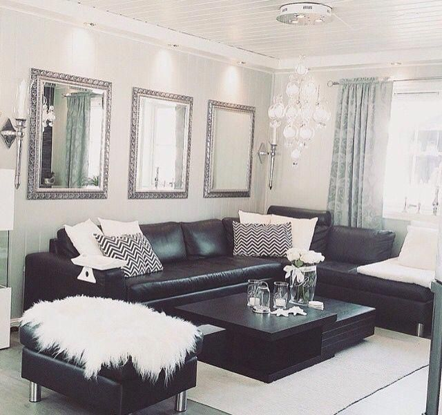 Tips That Help You Get The Best Leather Sofa Deal Black Couch Living Room Black Dining Room Leather Couches Living Room