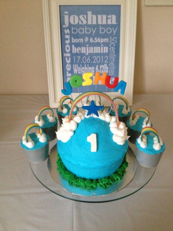 Joshua's party cake