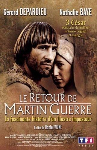 Le retour de Martin Guerre DVD ~ Gérard Depardieu