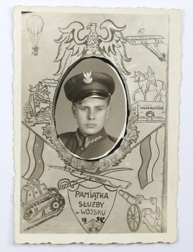 Pamiątka służby wojskowej wczesne LWP 4 ZOBACZ!