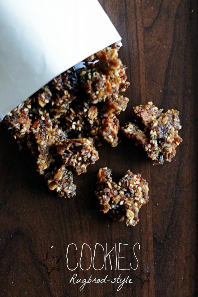 Cookies med rugbrød