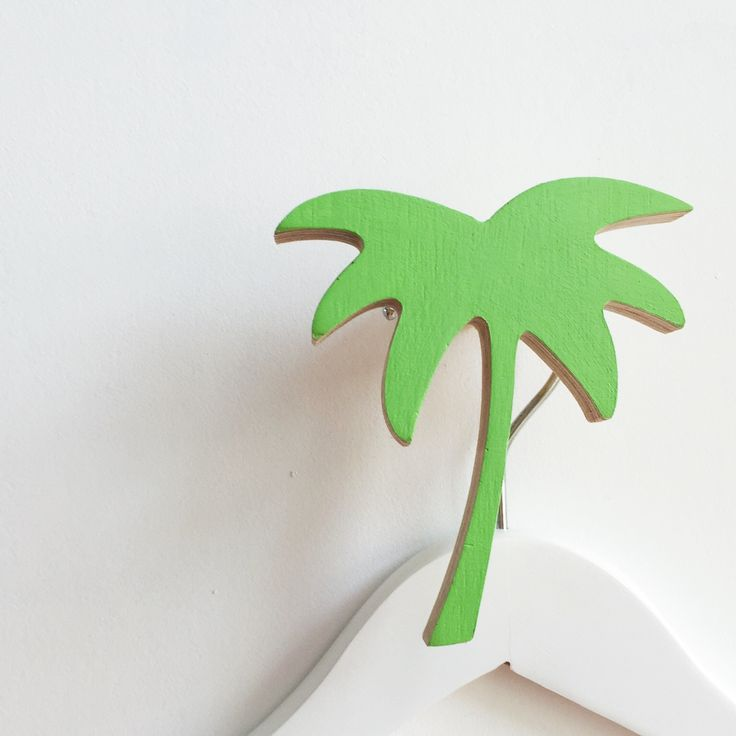 New arrival Palm Tree wall hooks have landed at www.knobbly.com.au