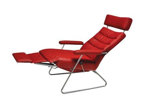Poltrona reclinável Adele (reclinada)
