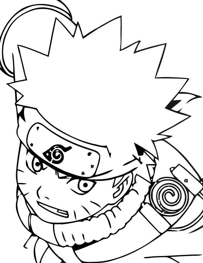 49 Best Naruto Coloring Pages Images On Pinterest
