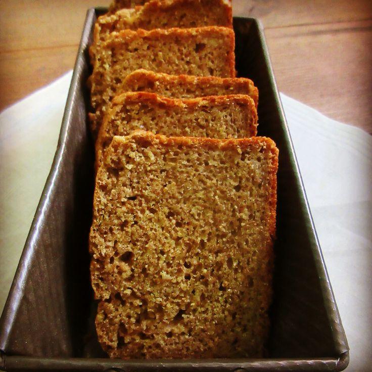 Brown Soda Bread ブラウンソーダブレッド。 石臼挽全粒粉、オートミール入りの味わい深いソーダブレッド。 200yen