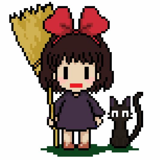 pixel art kiki