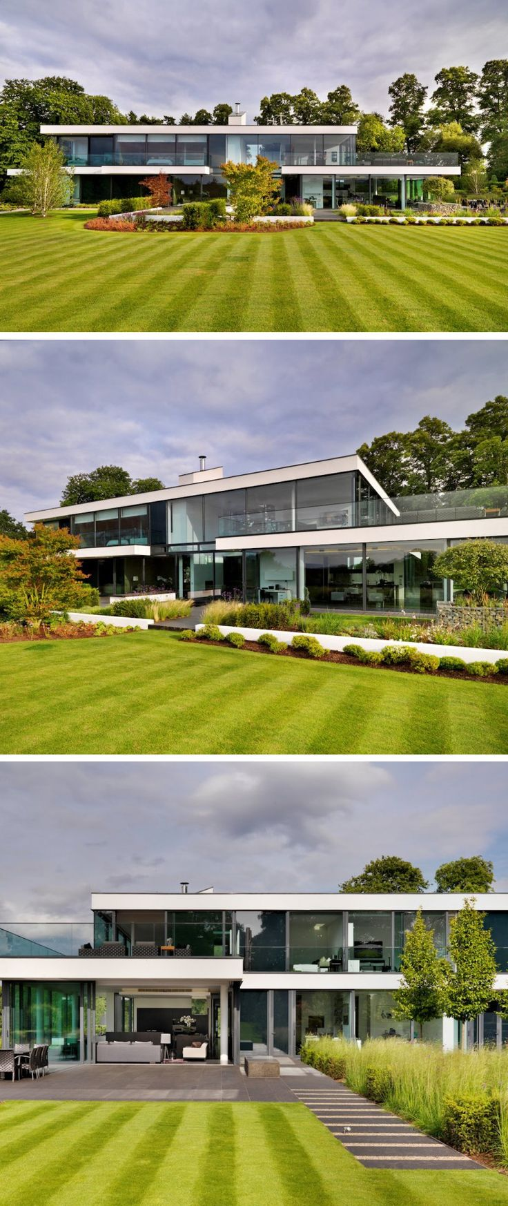 Gregory Phillips Architects have designed Berkshire, a family home recently completed in England.