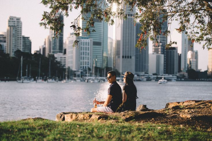 Heres to relaxing at Kangaroo Point while watching the sunset at golden hour  . @bws_au #herestoyou // Men's Fashion Style and Travel Blog - http://ift.tt/29K1GdU