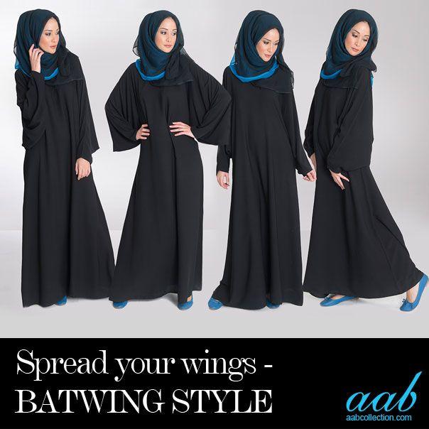 The Batwing Abaya. Spread your wings.. #daywear #nightwear #fashion