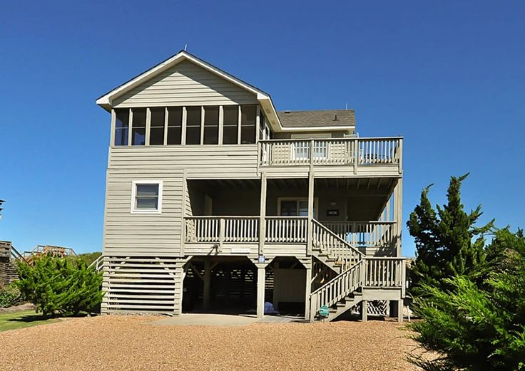 Twiddy Outer Banks Vacation Home - Harrison - Duck - Oceanfront - 4 Bedrooms