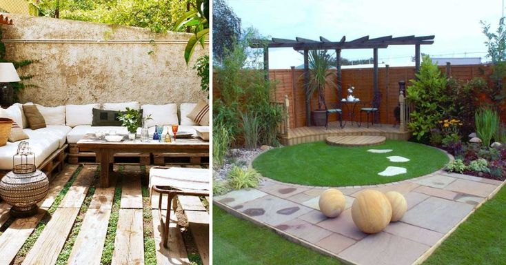 piccoli giardini da copiare Cerca con Google Giardino