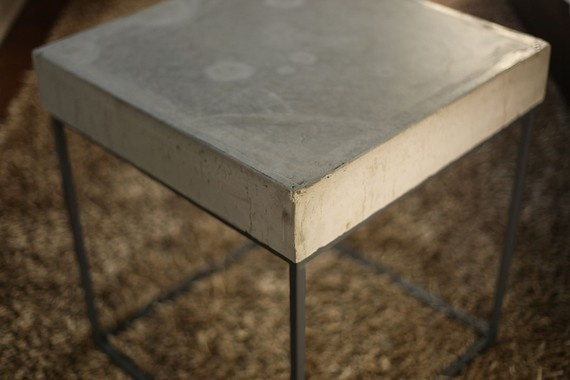 Concrete End table | For the Home | Pinterest | Side Tables, Tables ...