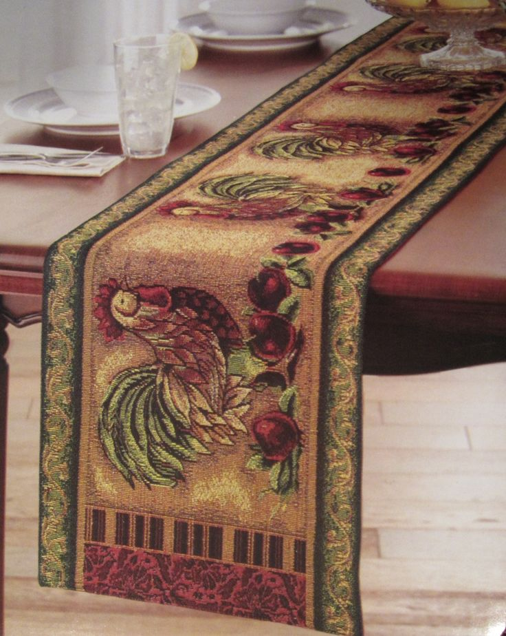 Tapestry Table Runners