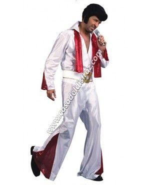 Disfraz de Elvis Presley para Carnaval #DsifracesOriginales #DisfracesBaratos http://casadeldisfraz.com/