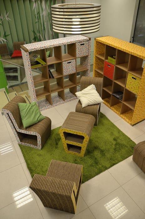 Oltre 25 fantastiche idee su mobili di cartone su pinterest - Costruire mobili in cartone ...