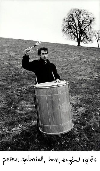 Peter Gabriel,  by Anton Corbijn,  1986