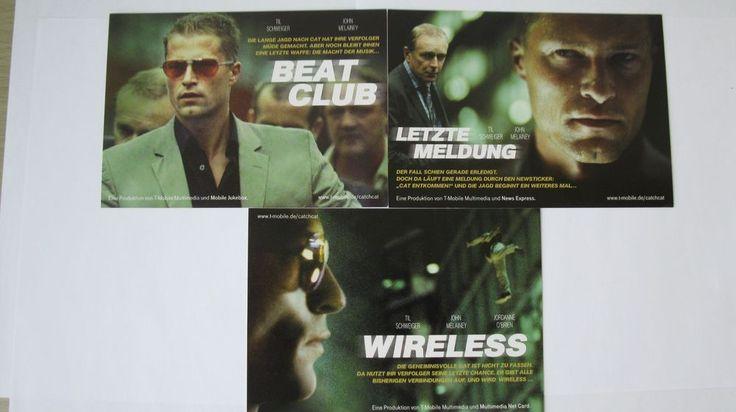 boomerang Cinema Cards T Mobile mit Till Schweiger Postkarten. Für Sammler und Fans von Till Schweiger.  Viel Spaß beim Bieten
