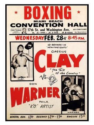 Cassius Clay vs Don Warner