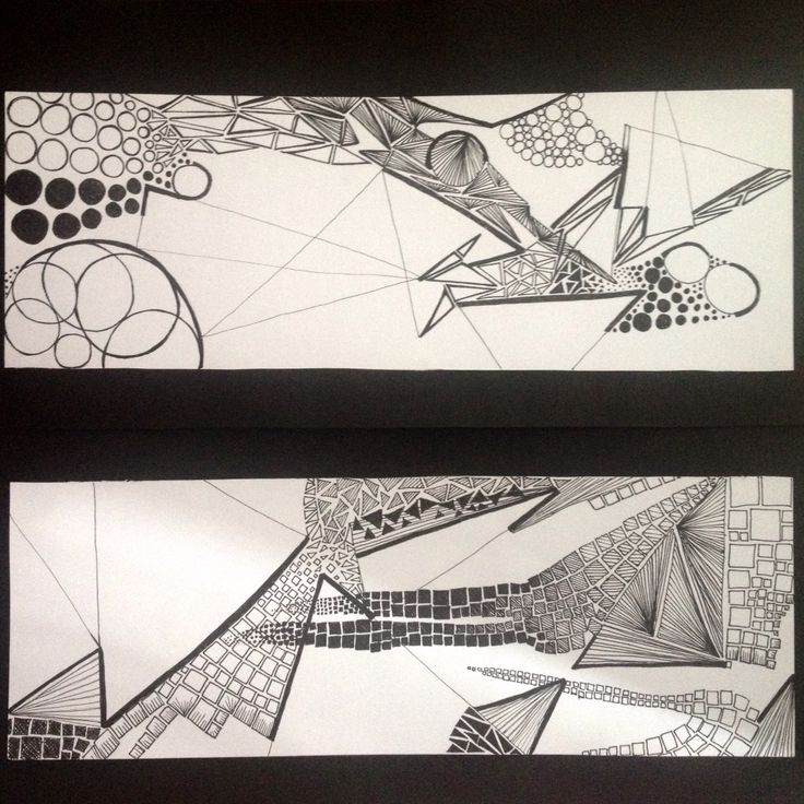 Explorations on Dots, Lines & Shapes (2/3)